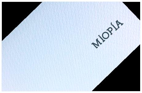 376f5a58b1 La miopía, conocida como